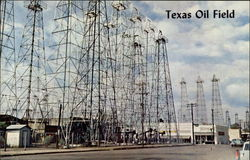Texas Oil Field