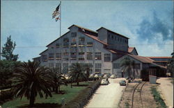"""The Sugar House"" of United States Sugar Corporation Postcard"