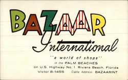 "Bazaar International ""A World of Shops"""