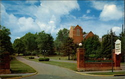 Entrance to Muskingum College