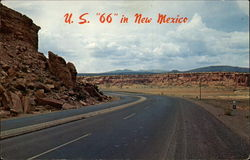 U. S. 66 in New Mexico