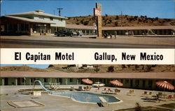 El Capitan Motel Gallup, New Mexico