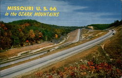Missouri U.S. 66 in the Ozark Mountains