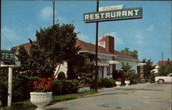 Village Restaurant Postcard