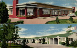 Eastwood Motel Postcard