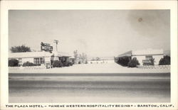 "The Plaza Motel-""Where Western Hospitality Begins"""