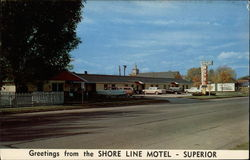 Greetings from the Shore Line Motel - Superior