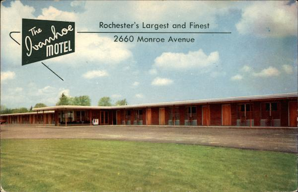 The Ivanhoe Motel Rochester's Largest and Finest New York