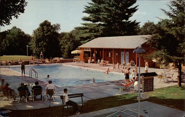The Swimming Pool, The Northfield Hotel East Northfield Massachusetts