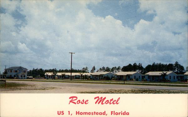 Rose Motel Homestead Florida