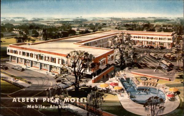 Albert Pick Motel Mobile Alabama