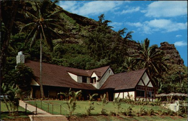 The Crouching Lion Inn Kaaawa Hawaii