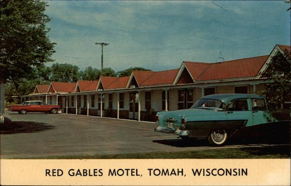 Red Gables Motel Tomah Wisconsin