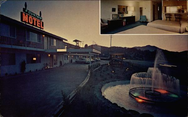 Fountain Motel Mill Valley California