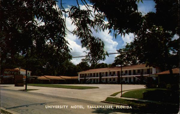 University Motel Tallahassee Florida