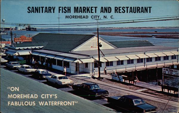 Sanitary fish market and restaurant morehead city nc for Fishing morehead city nc