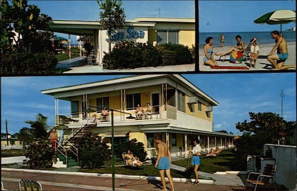 Sun Sea Apartments and Motel St. Petersburg Beach 6 Florida