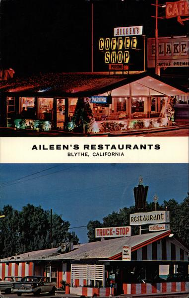 Aileen's Restaurants Blythe California
