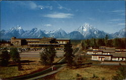 Jackson Lake Lodge Postcard
