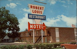 Robert-Louis Motel Postcard