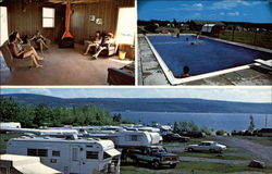 Fraser's Trailer Park and Campground Postcard