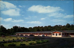 Lincoln Memorial Motel Postcard