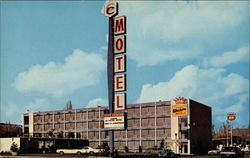 City Center Motel Postcard