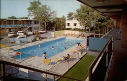 Golden Link Loduge, view of swimming pool, balconies