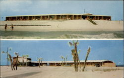 "Treasure Island Motel ""Right on the Gulf"" Postcard"