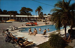 The Dolphin Motel Postcard