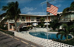Silver Swan Resort Motel Postcard