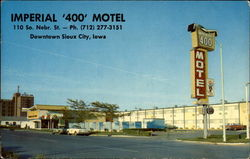 Imperial '400' Motel Postcard