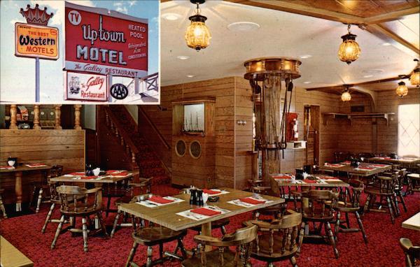 Uptown Motel and Galley Restaurant Casper, WY
