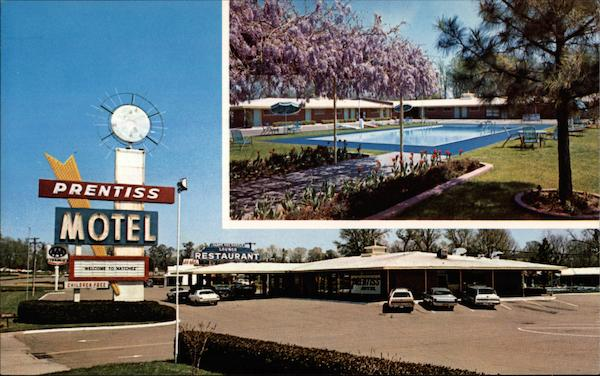 Prentiss Motel Natchez Mississippi
