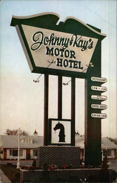 Johnny & Kay's Motor Hotel Des Moines Iowa