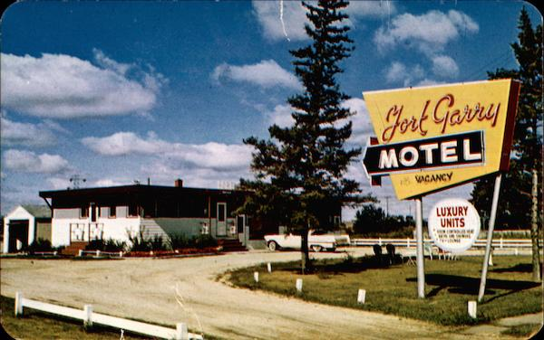 Fort Garry Motel Winnipeg Canada Misc. Canada