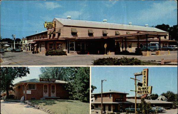 Views of McNeal Hi-Way Hotel-Motels Des Moines Iowa