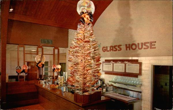 Famous Lollipop Tree in Glass House Restaurants