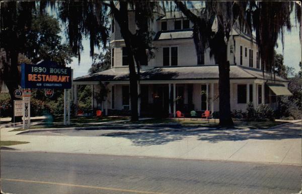 1890 House Restaurant Ocala Fl