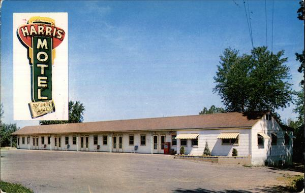 Harris Motel Des Moines Iowa