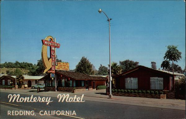 Monterey Motel Redding California