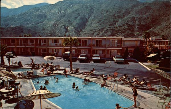 Palm Springs Travel Lodge California