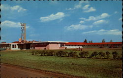Wheatland Motel and Restaurant Postcard