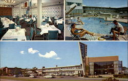 Arva Motor Hotel - U.S. 50, One Mile West of Washington D.C Postcard