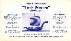 Swedish Smorgasbord Little Sweden Restaurants