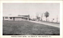 Winfield Court Motel - U.S. Route 20