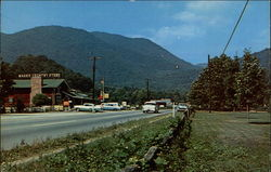 U.S. Highway 19 Entering Maggie Valley, North Carolina from the East Postcard
