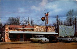 Adams Cafe Postcard