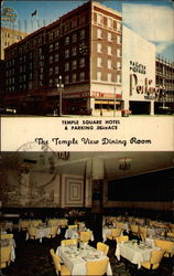 Temple Square Hotel & Parking Terrace - The Temple View Dining Room Postcard