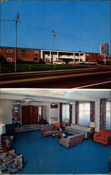 Town & Country Motor Hotel - Exit 12 Ohio Turnpike Postcard